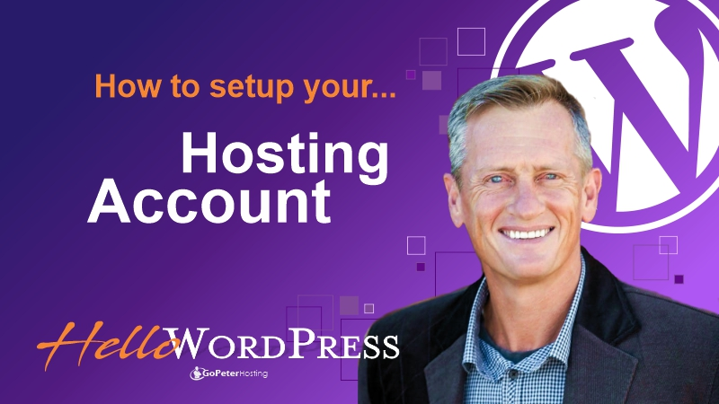 How to set up a Web Hosting Account