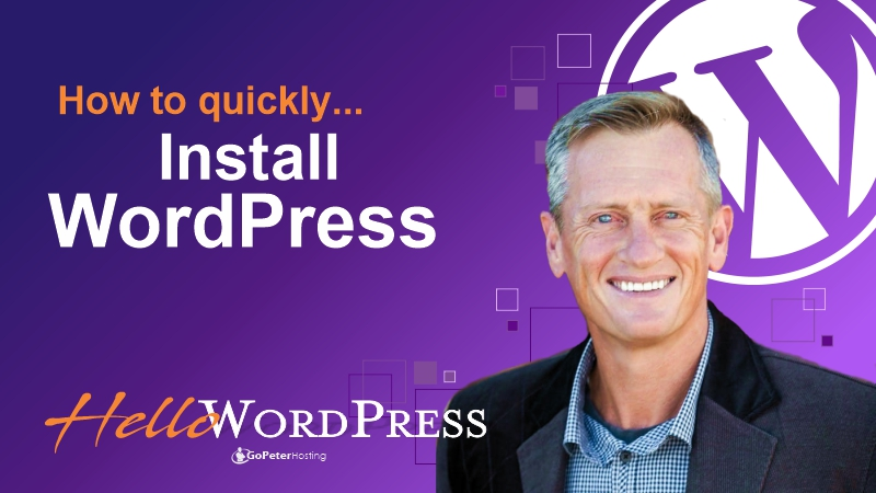 WordPress quick install with cpanel account